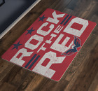 Washington Capitals Caps Hockey Stanley Cup Rock The Red Doormat Housewarming Ho $28.82 USD on eBay