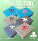 Playstation 1 slim with LCD screen attached (PSOne) duck cloth canvas dust cover