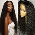 lace front wigs for black hair - Full Lace Front Human Hair Wigs Deep Wave Peruvian Pre Plucked for Black Women #