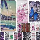 For Samsung Galaxy S8 S9+ A8 2018 J530 PU Leather Wallet Case Mask Phone Cover