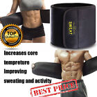 tummy wrap - Men Waist Trimmer Belt Sweat Wrap Tummy Stomach Weight Loss Fat Burner Slimming