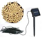 50 100 200 LED Solar Power Fairy Lights String Garden Outdoor Party Wedding Xmas