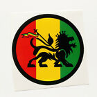 Lion of Judah Sticker Decal Vinyl Rasta Color Jah Jamaica Reggae Music 420 Haile