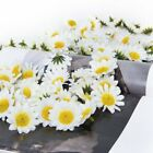 100x Artificial Daisy Flowers Heads For Diy Wedding Party Home Decoration
