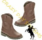Внешний вид - Garanimals CowBoy Boots Western Faux Leather 2 Infant- 6T Toddler Boys NEW