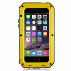 iPhone 8 &amp; iPhone 7 Case Shockproof Metal Frame W/ Screen Protector Case Cover <br/> 5 Colors   2-4 Day Shipping   Lifetime Warranty