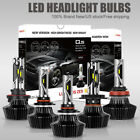 CREE LED Headlight Bulbs Kits 9005 9006 H11 H4 H13 High Low Beam 1400W Ballast $29.99 USD on eBay