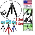 Tripod Stand Mount Flexible Mini Octopus Wraps For Go-pro Camera iPhone Samsung