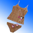 Betty Boop String Strap Camisole & Brief/Knicker Set Vest top Baby Doll £4.97 GBP on eBay