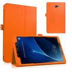 "Samsung Galaxy Tab A 10.1"" (2016) T580 T585 Leather Stand Slim Smart Case Cover"