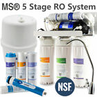 5-STAGE REVERSE OSMOSIS RO WATER FILTER SYSTEM KITCHEN UNDERSINK 50/75/150 GPD