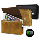 Pierre Cardin Genuine Leather Belt Clip Wallet Case Cover For Various Phones