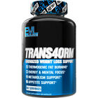 Evlution Nutrition Trans4orm Thermogenic Fat Burner Weight Loss Capsules