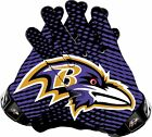 Baltimore Ravens Gloves Sticker Vinyl Decal / Sticker 5 sizes!!