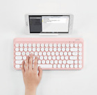 Actto Slim Bluetooth Keyboard Retro 4Color Desktop Laptop PC iOS Android Connect