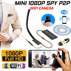 Mini Wireless IP Hidden Spy Camera 1080P HD For Home Surveillance Camcorder UK