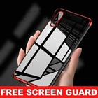 For Huawei P20 Pro/P Smart Stylish Hybrid Shockproof Plating Case Silicone Cover