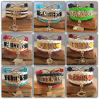 NFL Football Team Sports Fan Shop Infinity Bracelet $7.99 USD on eBay