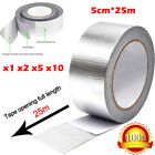 Aluminum Reinforced Insulation Tape Adhesive Backed Heat Shield Resistant Wrap