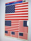4th Of July Patriotic Office Business Decoration Kit Bunting Window Decal Bow