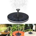 Solar Feature Fountain Submersible Water Pump Outdoor Garden Pool Pond 180L/H UK