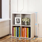 4 5 7 Cube Storage Display Shelves Wooden Bookcase Bookshelf Rack Stand Unit UK