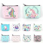 Women Mini Unicorn Coin Purse Flamingo Wallet Card Holder Earphone Package Bags image
