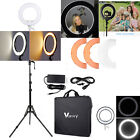 "12"" LED Ring Light or 2M Camera Tripod Stand for Studio Photo Video Lighting"