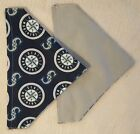 SEATTLE MARINERS MLB (BASEBALL) HANDMADE 2 SIDED DOG SCARF(PICK SIZE) on Ebay