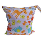 10 Packs Baby Nappy Reusable Washable Wet Dry Cloth Zipper Waterproof Diaper Bag