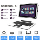 Tetratab Casebook 3 Rugged 10.1&quot; 2-in-1 Laptop / Tablet 2GB RAM, 64GB, 4G LTE <br/> Wind 10 Pro /Android 6.0, Detachable Keyboard &amp; Stylus