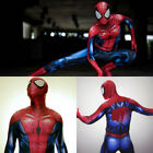 Marvel Ultimate Spider Man Halloween Cosplay Costume Tight Zentai Suit Jumpsuit