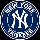 New York Yankees Circle logo Vinyl Decal / Sticker 5 Sizes!!!