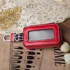 Women Men Genuine Leather Car KeyChain Card Holder Wallet Case key Organizer Bag