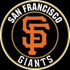 San Francisco Giants Circle logo Vinyl Decal / Sticker 5 Sizes!!!