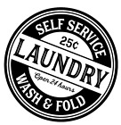 Laundry Self Service Quote Vinyl Decal Sticker Wall Home Room Decor Diy Choice
