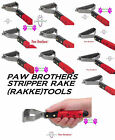 PROFESSIONAL COAT STRIPPER RAKE Pet Grooming Dog Cat Under Hair Mat Breaker Tool
