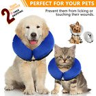 Electronic Dog Pet Medical Collar Inflatable Training Aid Cat Protective Licking
