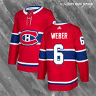 Shea Weber Montreal Canadiens 6 Canadiens Red Home Men Sewn Hockey Jersey