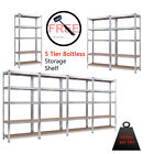"5 Equivalent Heavy Duty Shelf Garage Steel Metal Storage Rack Adjustable Shelves 71""L"