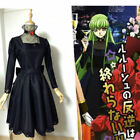 party pieces free delivery code - Code Geass C.C. banquet party Black Gown Dress cosplay costume free shipping