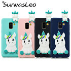 "For Samsung Galaxy A8 (2018) 5.6"" 3D Unicorn Soft Silicone Case Phone Cover Skin"