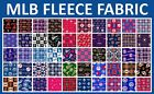 "MLB Fleece Fabric All Teams Sports Collection - 60"" Wide - Sold by The Yard!! on Ebay"