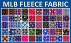 """MLB Fleece Fabric All Teams Sports Collection - 58-60"""" Wide - Sold by The Yard!! on Ebay"""