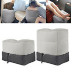 Inflatable Travel Footrest Leg Foot Rest Travel Pillow Portable Air Pad Kids Bed