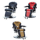 Barber Chair Hydraulic Recline Salon Beauty Spa Shampoo Hair Styling 3 Colors