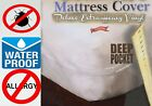 Royal Silk  Heavy Vinyl Zippered Mattress Cover 100 Waterproof  Bed-Bug Proof