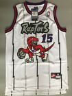 Toronto Raptors Vince Carter White Throwback Swingman Basketball Jersey S M L XL
