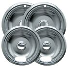 drip bowl - New Electric Range Drip Bowls Chrome Style A for Kenmore Maytag by Range Kleen
