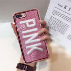 Bling Glitter Shockproof Hybrid Embroidery Case Cover For iPhone X 8 6 6s 7 Plus